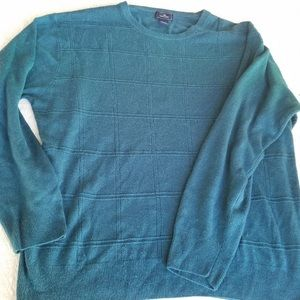 Dockers size XXL Teal pull over sweater GUC
